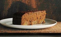 Dark Gingerbread Pear Cake Recipe  | Epicurious.com