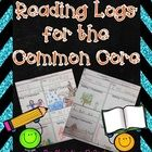These Common Core aligned reading logs have endless possibilities in the classroom!  Each of the 45 reading logs contain simple directions with pic...