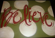 Easy Canvas christmas Painting Ideas | Posted by Natalie at 6:34 PM 0comments