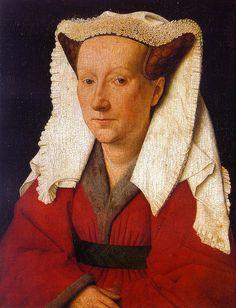 Margarete van Eyck by Jan van Eyck ca. 1439