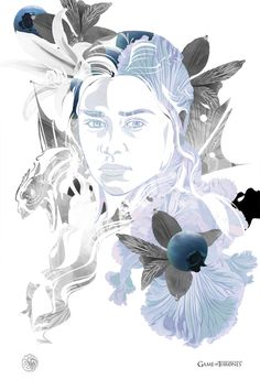 Game of Thrones - Daenerys Targaryen by Vincent Rhafael Aseo *