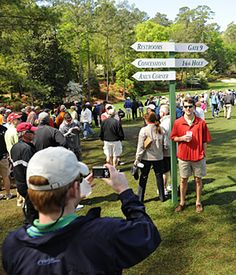 """""""The Insider's Guide To Masters Week"""" by Golf Digest."""