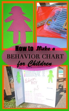 How to Make a Behavior Chart for Children