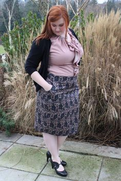 Kate Retherford, Seattle Style Blogger in Mikarose