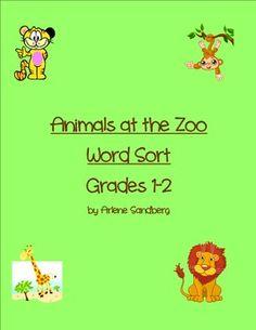 Common Core Standard Word Sort