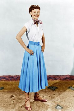 The golden age of Hollywood: costumes by Edith Head for Audrey Hepburn