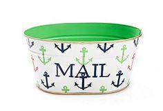 Adorable Anchored mail tin