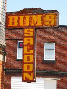Bum's Saloon.... Cleveland, Ohio