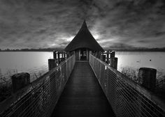 #ThrowbackThursday #Architecture Crannog by Jem Salmon / Scotland :: Crannogs were used as dwellings over five millennia from the European Neolithic Period.