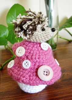 Free Knitting Pattern 50855 William the Hedgehog : Lion
