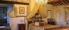 The wedding suite at Villa San Crispolto - luxury Italian wedding venue for your destination wedding www.romanticitalianweddings.com