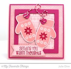Cozy Mittens Card by Kreative Jewels