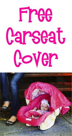 FREE Super Cute Carseat Cover! {just pay s/h} #baby