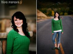 Holly's senior pictures