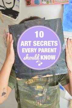 10 Art Secrets Every Parent Should Know - Meri Cherry