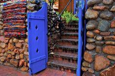 Southwestern door.