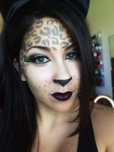 A Super-Easy Leopard Eye Makeup for Halloween Video A Super-Easy Leopard Eye Makeup for Halloween Video new picture