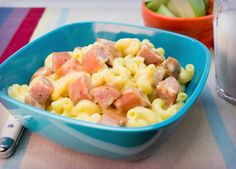 Mac & Cheese with Johnsonville Smoked Sausage