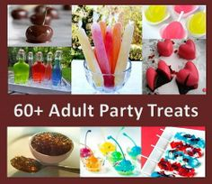 60 + Adult Party Treats
