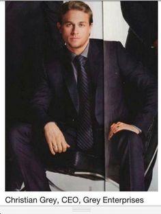 Charlie Hunnam as Christian Grey