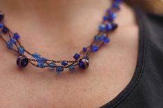 Crochet Infamous Beaded Necklace, http://crochetjewel.com/?p=10234