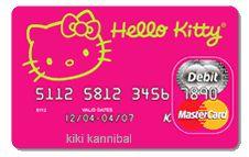 CREDIT CARD HELLO KITTY | ... tagged check card debit card hello kitty hello kitty check card hello
