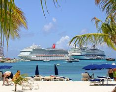 Philipsburg is the capital of Dutch St. Maarten.  Lots of cruise ships stop here.  Go to www.YourTravelVideos.com or just click on photo for home videos and much more on sites like this.