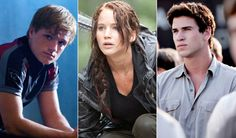 hunger games love triangle