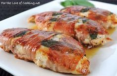 For the Love of Cooking ? Lemony Chicken Saltimbocca.