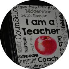 Free Beautiful Printable for Teacher Appreciation Week. #newteachers #yearendroundup