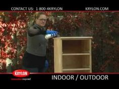 A step-by-step guide on how to spray paint a dresser using Krylon Indoor/Outdoor paint to turn it into a beautiful piece of bedroom furniture. This project can be completed in easy steps! For more information on Indoor/Outdoor spray paint, visit http://www.krylon.com/products/indooroutdoor_paint