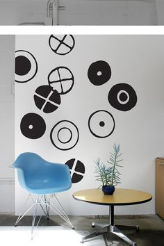 "EAMES CIRCLES ~ LARGE  Dimensions: 15""Pieces: 10What's included?  It's Eames, what more can we say? Except maybe that even their logo is cool.  $52.00"