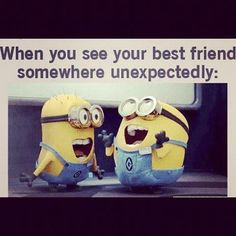 yayyy minion friends love their faces :D