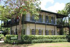 Ernest Hemingways house in the Florida Keys