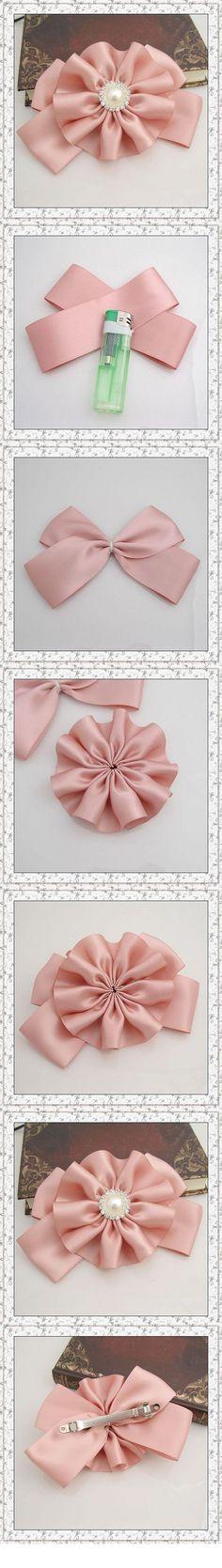 bow handmad, craft idea, hair style, bows, hair bow