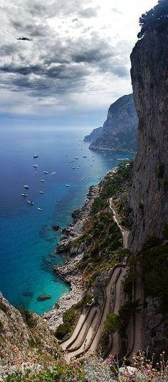 Isla de Capri, Campania, Italy