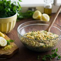 Roasted Corn Tabouli and Ode to Summer Corn
