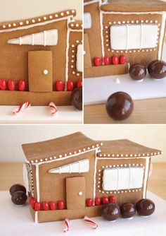 Modern Gingerbread House | Oh Happy Day