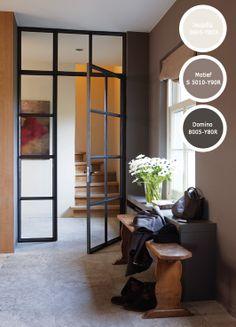 Kleur in de hal on pinterest hallways entryway and bone china - Deco entree in het huis ...