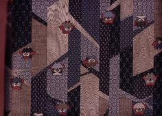 upholsteri fabric, branch tree, owl branch, japanes cotton, fabric owl, yard japanes, owls, branches, cotton fabric