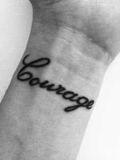 This is cute. I want a wrist tattoo next!