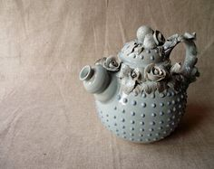 Alice in Wonderland teapot by lofficina on Etsy