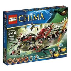 (CLICK IMAGE TWICE FOR UPDATED PRICING AND INFO) #toys #buildingtoys #lego #games  LEGO Chima Cragger Command Ship 70006  - See More Building Toys at http://www.zbuys.com/level.php?node=4015=building-toys