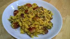 Recipe - harissa rice with grapes