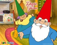 David, the Gnome-great 80's show! My jaw automatically dropped and I got so excited