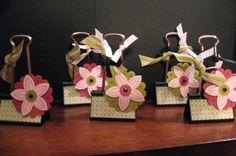 Polka Dot Binder Clips by stampinbrenda - Cards and Paper Crafts at Splitcoaststampers