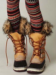 Joan of Artic boots, Sorel