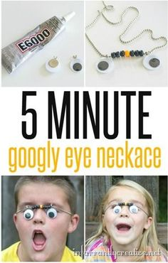 Googlie Eye Necklace