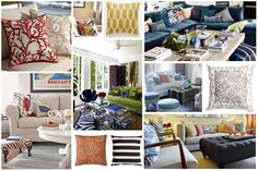 Throw Pillows: Easy Trends to Try for Summer http://blog.hgtv.com/design/2014/05/30/throw-pillows-easy-trends-to-try-for-summer/  Young House Love  http://idealshedplans.com/storage-shed/