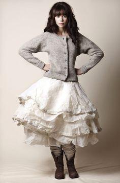 Ewa i Walla...great skirt!